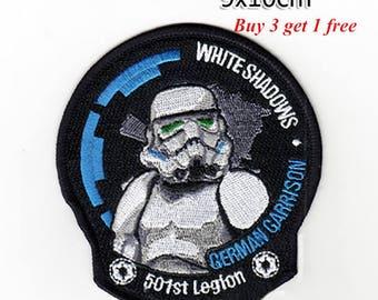 Star Wars Patch Star Wars Iron On Star Wars Birthday Star Wars Gift NOT Star Wars embroidery design Star Wars applique design
