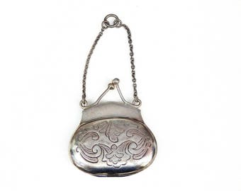 Sterling Silver Antique Purse
