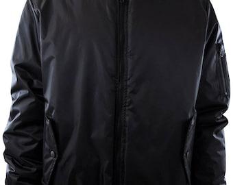 Mens Premium Quality Thick Bomber MA-1 Flight Jacket, Puffy Coat
