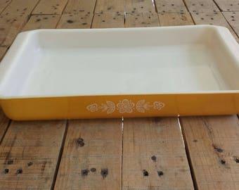 Pyrex Butterfly Gold lasagne Dish 933 Large Baking Pan