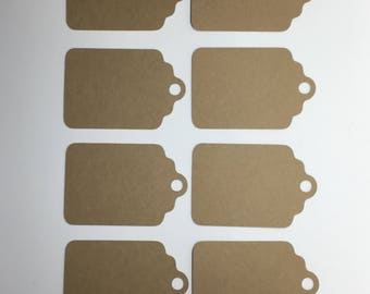 24 Blank Gift Tags