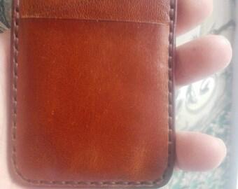Card holder leathe  Money Clip  Credit card case  Slim walle  Front pocket  Card walle Gift  Credit card holder  Card case leather,