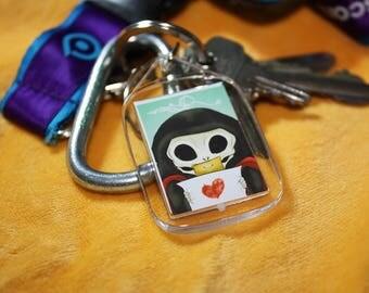 Keychain / Anhänger Ab Imo Pectore