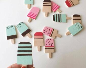 handmade wooden memory game