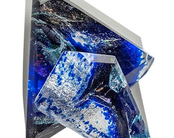 Cast Glass Triangles