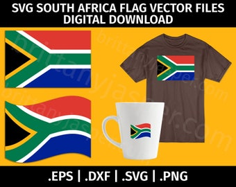 South africa flag  Etsy