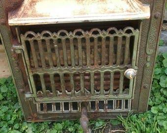 Vintage Cast Gas Fireplace Insert