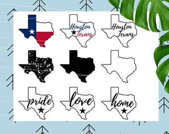 Texas state SVG Texas SVG Texas Cut File Houston Texans SVG Football Svg Sports svg files for Cricut Silhouette svg dxf eps png lfvs