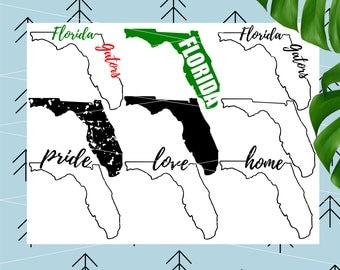 Florida Svg Bundle Florida state svg Football Svg Florida Gators svg Sports svg University of Florida svg files for Cricut Silhouette lfvs