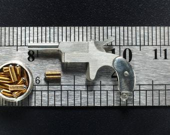 Miniature gun scale model | Scale 1:6 | Sterling Silver 925