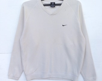 Rare!!Nike sweatshirt small logo embroided