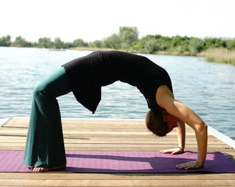 YogaKleid, yoga, ReiseKleid, summer dress, dress, YogaDress, dress, comfortable - the little black dress