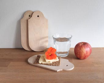 Breakfast board, Sandwich Plates, Wood Plate, Cutting Board, Cutting Board, Cheese Board