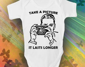 Take A Picture Baby Grow - Trendy - Cool