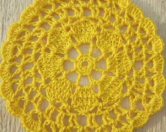Doily. Tablecloth. Napkin