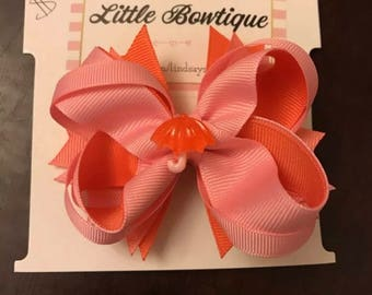 April Showers Hair Bow