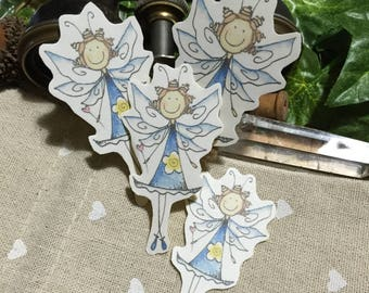 Scrapbook Embellishment Stickers - May - Springtime Fairy
