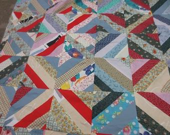 Quilt Tops, Vintage Quilt Top, Bedding