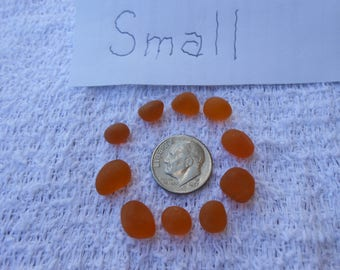 Rare Orange Sea Glass