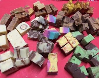Box of assorted Handmade fudge