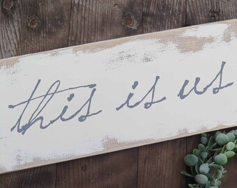 This is us farmhouse sign