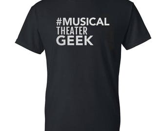 Musical geek Mens / Womens T-shirt High Quality Fashion Style Hand Crafted Apparel Bulk Orders Discounts !
