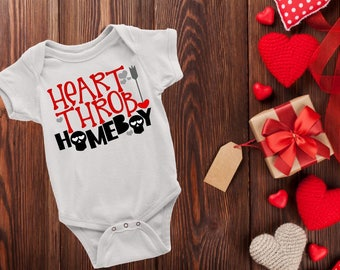 Heart Throb Homeboy Onesie Bodysuit