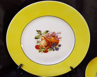 Exquisite early 20th Centurary Limoges Side Plates