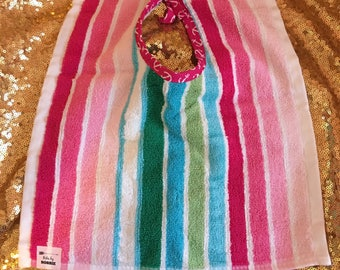Anchors Aweigh!  Wash&Wear Bibs by Bobbie