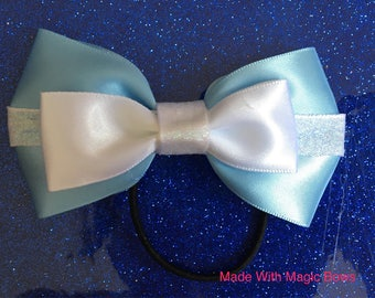 Disney's Cinderella inspired hair bow