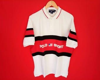vintage polo sport ralph lauren medium shirt