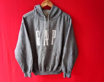 vintage gap sweatshirt hooded medium mens size