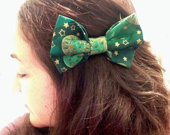 Sun and Moon Hair Bow for Girls