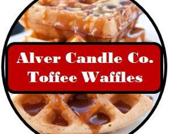 Handcrafted Soy Wax Melts (Toffee Waffles) Alver Candle Company
