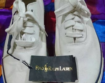 Vintage 90s Polo by Ralph Lauren Casual Shoe Polo 92 P Wing Stadium
