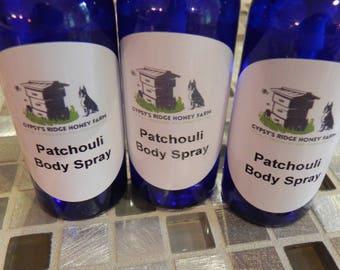 Patchouli Body Spray