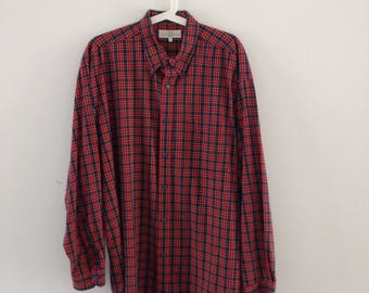 Vintage Marks & Spencer Flannel - L