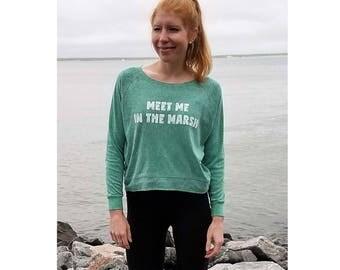 Meet Me In The Marsh Jumper