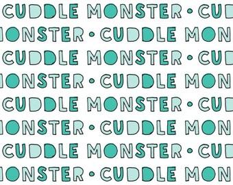 Cuddle Monster Blanket