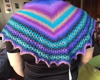 Sewanee shawl