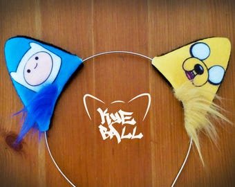 Adventure Time Cat Kitty Ears Headband