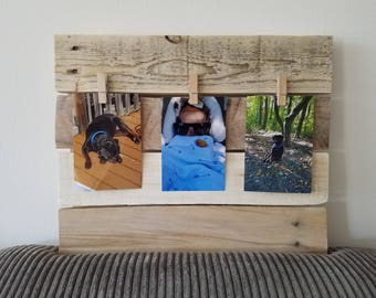 Rustic  Reclaimed Wood Picture Frame, Wall Decor, Rustic Home Decor