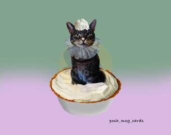 Greeting Card 'Cream Pied'
