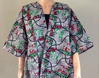 Cotton kimono certified WAX 44/46/48/50/52 extralarge