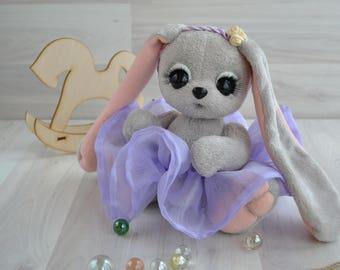 Teddy Bunny Lavender  / Зайка тедди Лавандочка