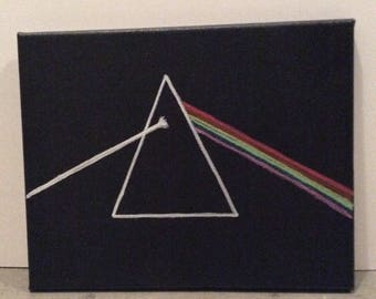 Pink Floyd Dark Side of the Moon painting