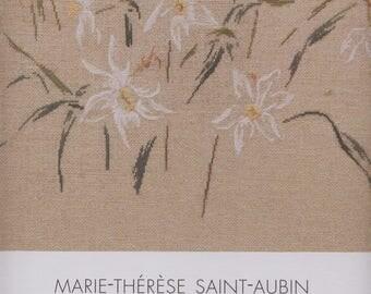 Book of embroidery narcissi cross-stitch - Marie Thérèse Saint Aubin