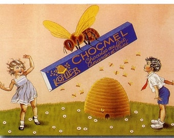 Chocomel Vintage French Poster Print