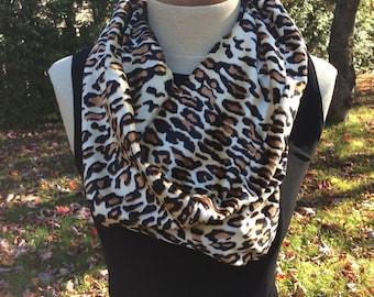 Leopard scarf. Discount $ 25.00