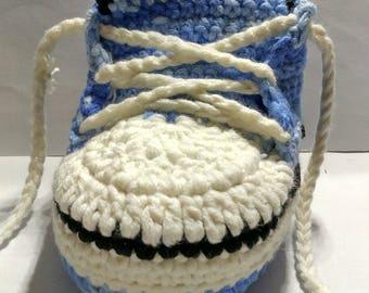 Bule wool sneakers